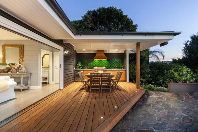 15 Elegant Outdoor Deck Designs For Your Backyard on Backyard Exterior Design id=76128