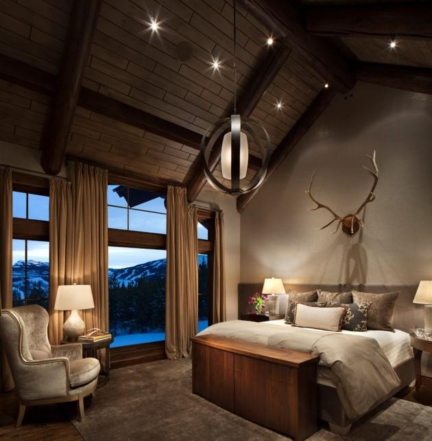 15 Cozy Rustic Bedroom Interior Designs For This Winter on Minimalist:btlhhlwsf8I= Bedroom Design  id=79120