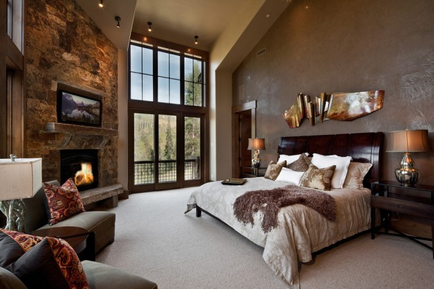 15 Cozy Rustic Bedroom Interior Designs For This Winter on Remodel:xmqi70Klvwi= Small Kitchen Ideas  id=46824