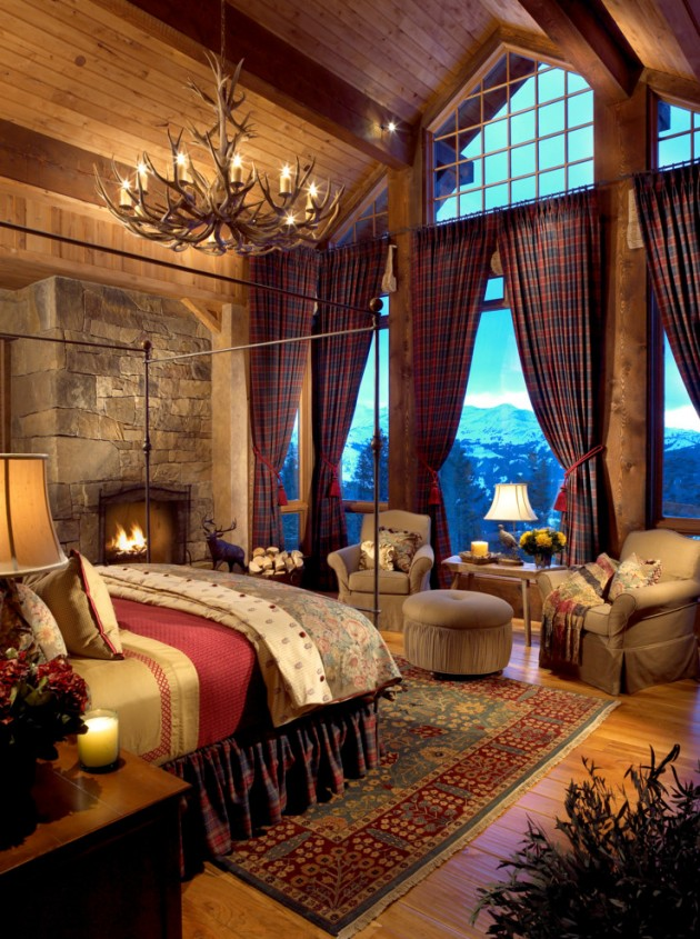 15 Cozy Rustic Bedroom Interior Designs For This Winter on Remodel:ll6Wzx8Nqba= Small Kitchen Ideas  id=23065
