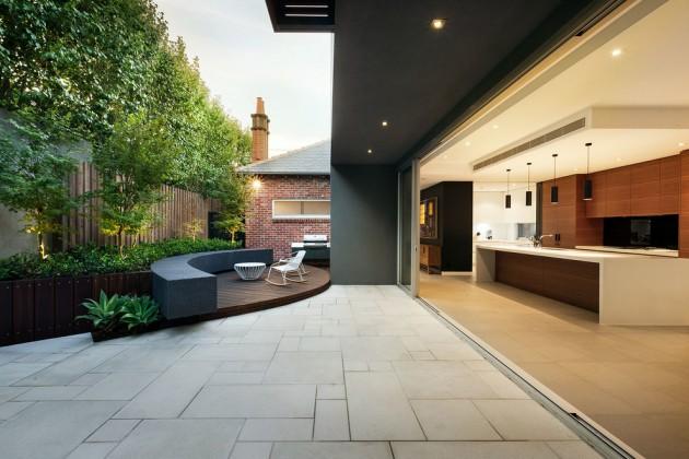 15 Fresh Modern Patio Designs For Your Courtyard on Modern Back Patio id=56565