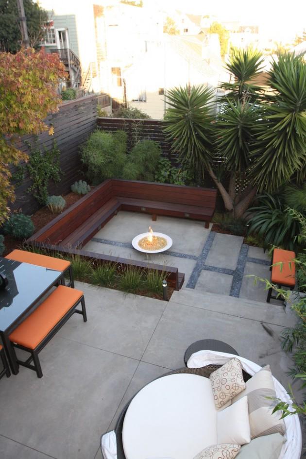 15 Fresh Modern Patio Designs For Your Courtyard on Modern Small Backyard Ideas id=62592