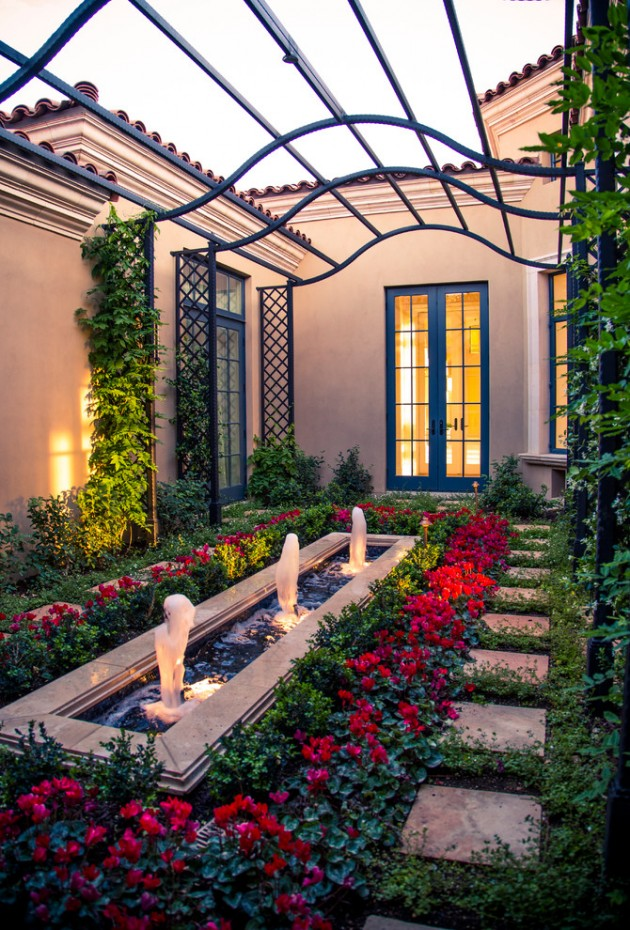 15 Ideas For Your Garden From The Mediterranean Landscape ... on Small Mediterranean Patio Ideas id=44907