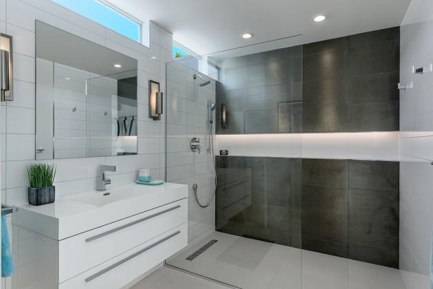 15 Incredibly Modern Mid Century Bathroom Interior Designs