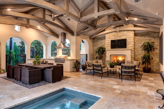 15 Luxury and Classy Mediterranean Patio Designs on Luxury Backyard Patios id=60129