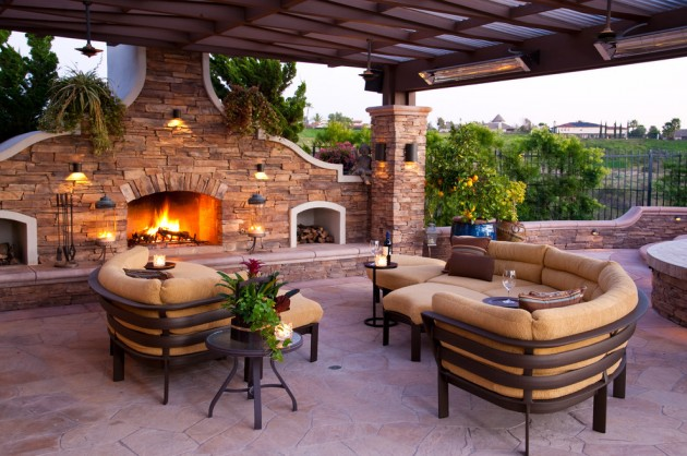 15 Luxury and Classy Mediterranean Patio Designs on Luxury Backyard Design id=80183