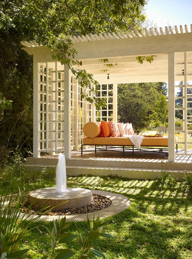 15 Wonderful Traditional Patio Setups For Your Backyard on White Patio Ideas id=46359