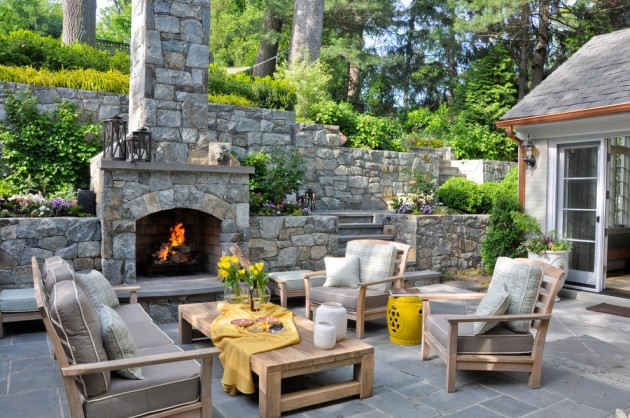 15 Wonderful Traditional Patio Setups For Your Backyard on Houzz Backyard Patios  id=95813