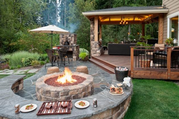 15 wonderful traditional patio setups