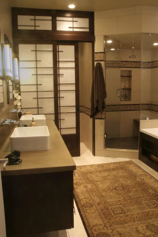 15 Zen-Inspired Asian Bathroom Designs For Inspiration on Modern:kkgewzoz5M4= Small Bathroom  id=75387