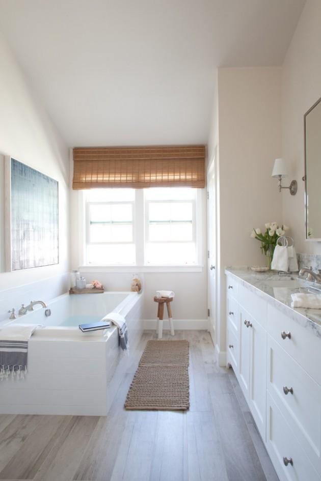 15 Embracing Farmhouse Bathroom Designs For Inspiration on Bathroom Ideas Modern Farmhouse  id=44488