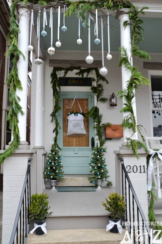Winter Front Porch Ideas