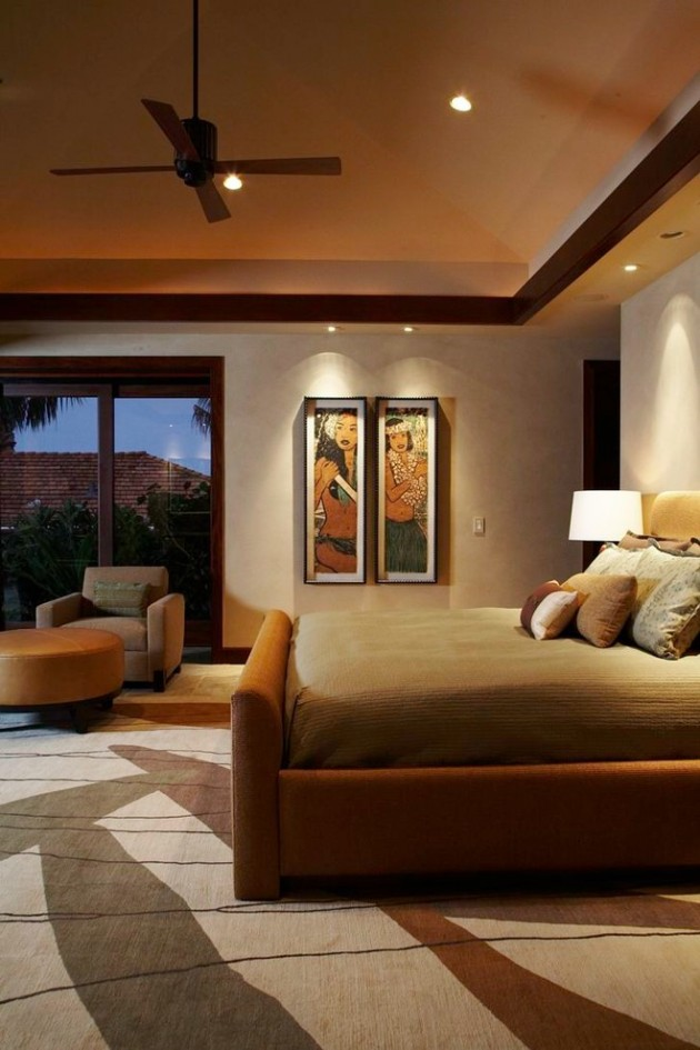 You can use warm, light colors like sea blue, light green or even yellow. 15 Exotic Tropical Bedroom Designs To Escape From The Cold