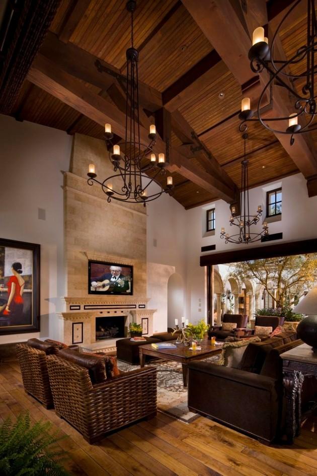 15 Extravagant Mediterranean Living Room Designs That Will ... on Teenage:rfnoincytf8= Room Designs  id=91913