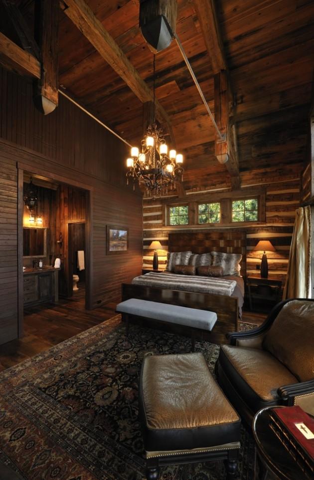 15 Restful Rustic Bedroom Interior Designs That Will Make ... on Teenage:rfnoincytf8= Room Designs  id=66613