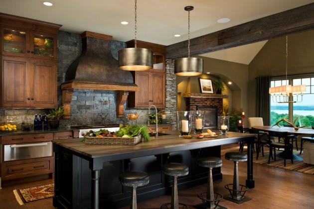 15 Warm Rustic Kitchen Designs That Will Make You Enjoy ... on Farmhouse:4Leikoxevec= Rustic Kitchen Ideas  id=79457