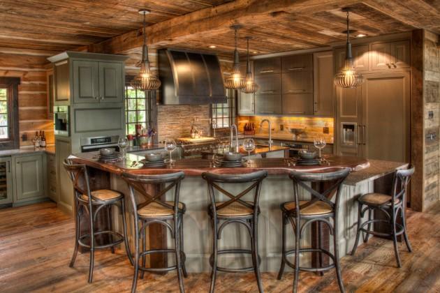 15 Warm Rustic Kitchen Designs That Will Make You Enjoy ... on Farmhouse:4Leikoxevec= Rustic Kitchen Ideas  id=73038