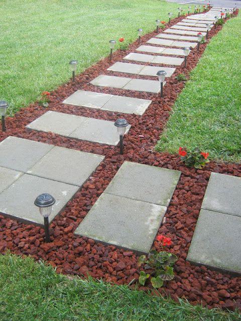 12 Beautiful DIY Garden Walkway Designs on Side Yard Walkway Ideas id=34530