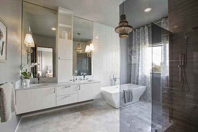 15 Chic Contemporary Bathrooms For Inspiration And Ideas