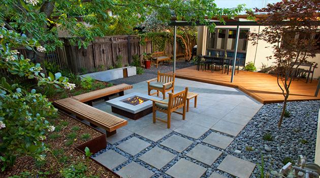16 Captivating Modern Landscape Designs For A Modern Backyard on Modern Small Backyard Ideas id=47864