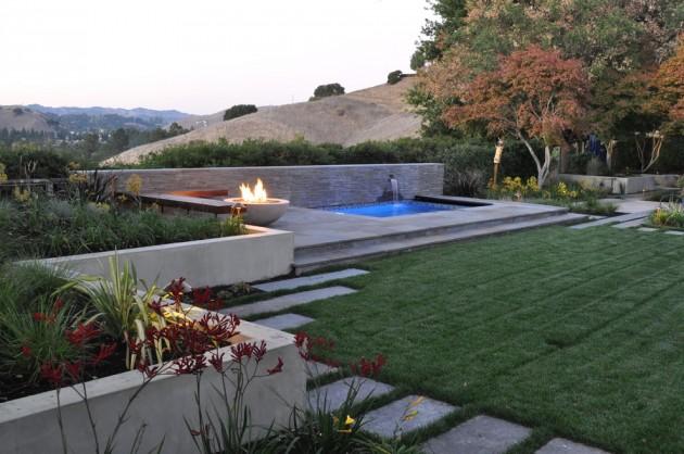 16 Captivating Modern Landscape Designs For A Modern Backyard on Modern Backyard Landscape Ideas id=43508