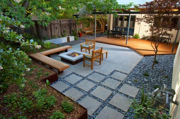 16 Captivating Modern Landscape Designs For A Modern Backyard on Modern Backyard Landscape Ideas id=59430