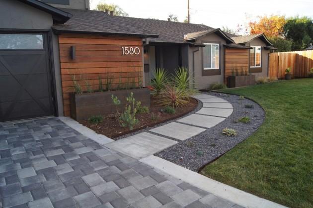 Designs House Front Landscape