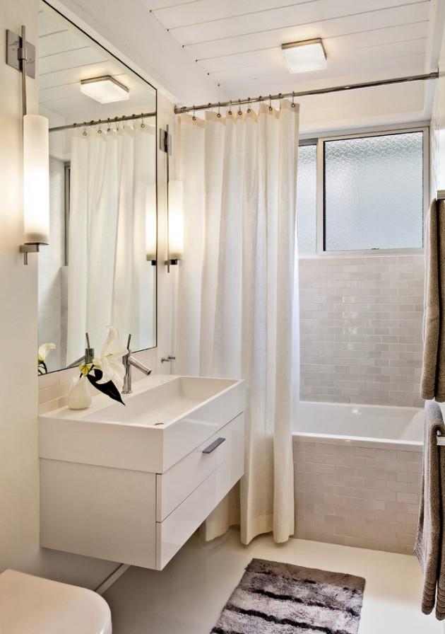 20 Stylish Mid-Century Modern Bathroom Designs For A ... on Modern:kkgewzoz5M4= Small Bathroom  id=31349