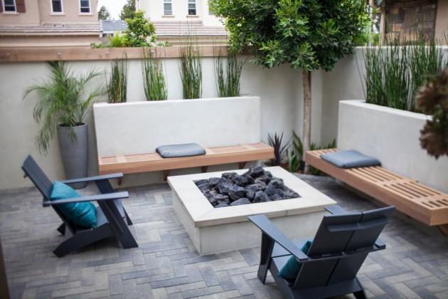 22 Exceptional Modern Patio Designs For A Wonderful Backyard on Modern Backyard Patio Ideas  id=60339