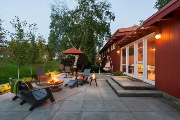16 Exceptional Mid-Century Modern Patio Designs For Your ... on Mid Century Patio Design  id=70246