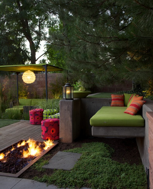 16 Exceptional Mid-Century Modern Patio Designs For Your ... on Best Backyard Patio Designs id=51362