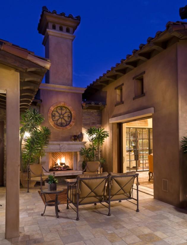 18 Extraordinary Luxurious Mediterranean Patio Designs You ... on Small Mediterranean Patio Ideas id=79167