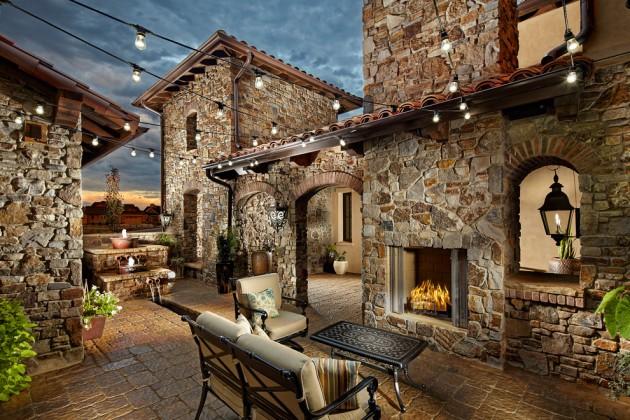 18 Extraordinary Luxurious Mediterranean Patio Designs You ... on Small Mediterranean Patio Ideas id=23475
