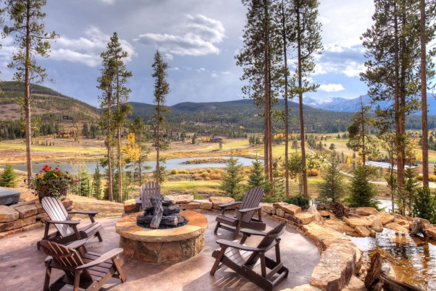 18 Startling Rustic Patio Designs To Enjoy The Nature Even ... on Mountain Backyard Ideas  id=93440