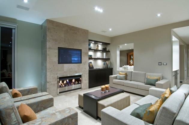 Family Room Contemporary Design Ideas