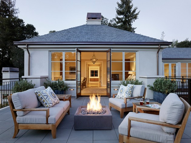 15 Brilliant Transitional Deck Designs To Make Your ... on Best Backyard Patio Designs  id=96036