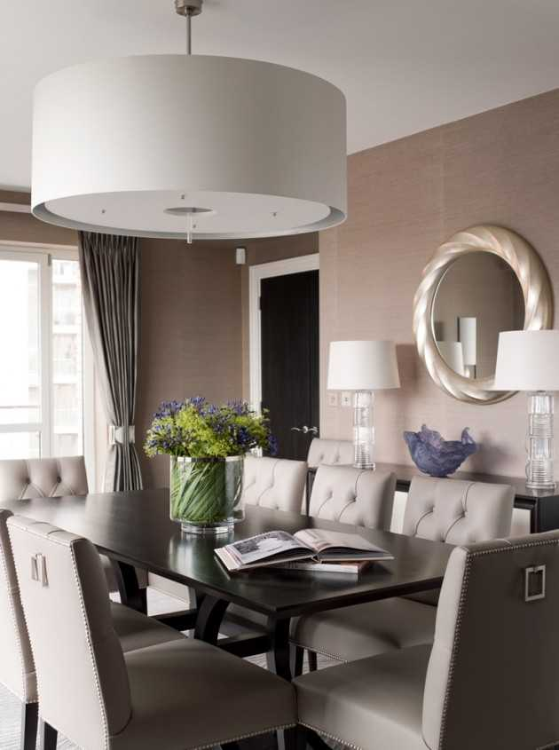 15 Terrific Transitional Dining Room Designs That Will Fit ... on Teenage:rfnoincytf8= Room Designs  id=54691