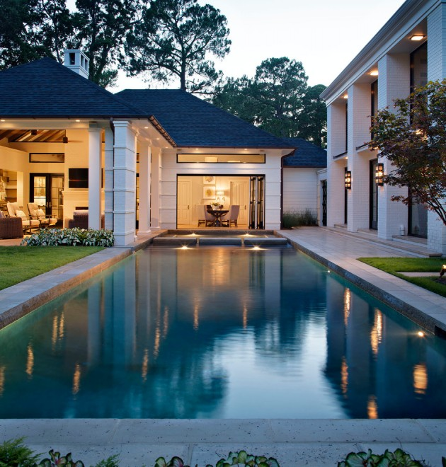 16 Unbelievable Transitional Swimming Pool Designs Your