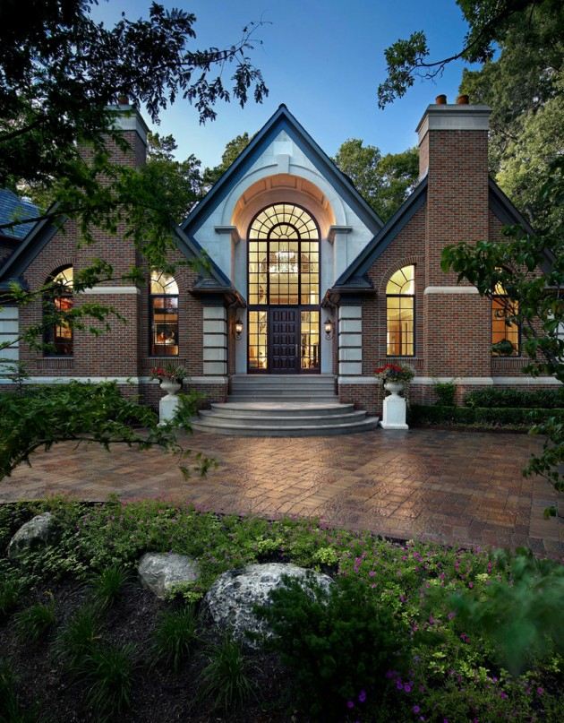 16 Wicked Transitional Exterior Designs Of Homes You Ll Love