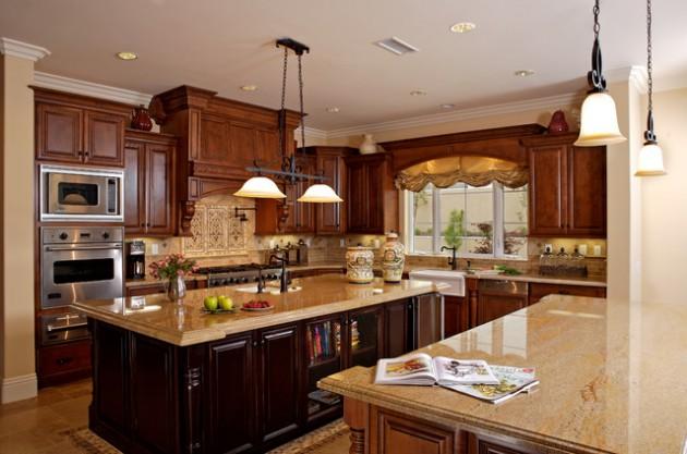 Classy Mediterranean Kitchen Design Ideas