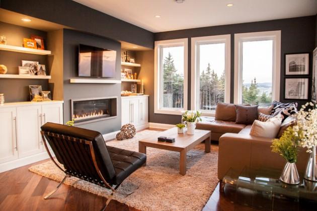 18 Beautiful Comfortable Living Room Design Ideas