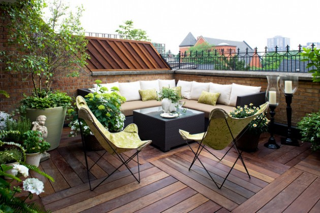 18 Effective Ideas How To Make Small Outdoor Seating Area on Small Garden Sitting Area Ideas  id=96402
