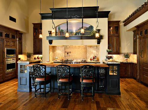 17 Classy Mediterranean Kitchen Design Ideas on Farmhouse:-Xjylc6A2Ec= Rustic Kitchen  id=83999