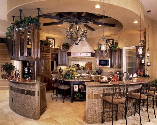 17 Classy Mediterranean Kitchen Design Ideas on Farmhouse:-Xjylc6A2Ec= Rustic Kitchen  id=42670