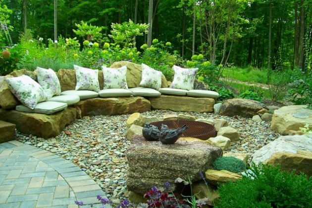 18 Effective Ideas How To Make Small Outdoor Seating Area on Small Garden Sitting Area Ideas  id=13898
