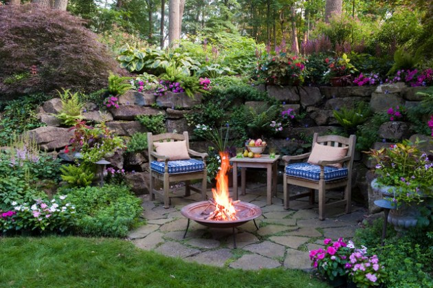 18 Effective Ideas How To Make Small Outdoor Seating Area on Small Garden Sitting Area Ideas  id=46095
