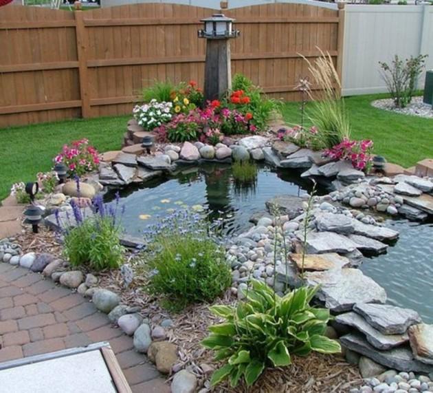 Backyard Koi Pond Designs