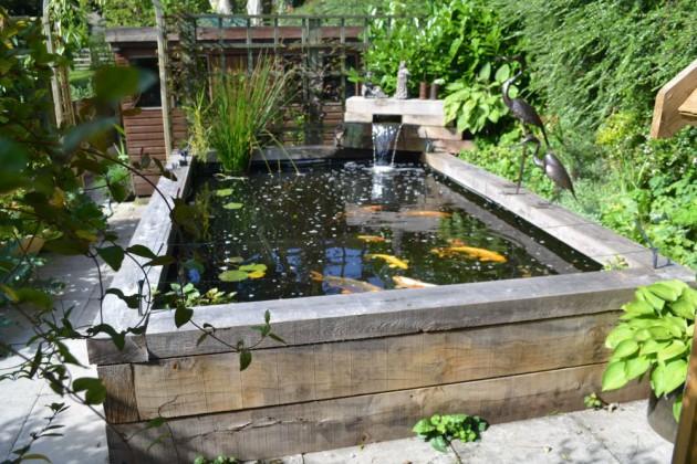 Attracitve Fish Pond In Your Backyard 23 Impressive Ideas