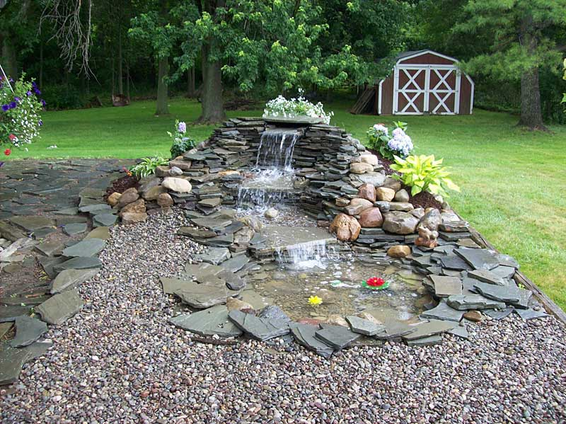 18 Flawless Waterfalls Garden Ideas To Get You Inspired on Waterfall Ideas For Garden id=13714
