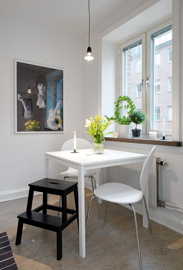 14 Functional Dining Room Ideas For Small Apartments on Room Ideas For Small Rooms  id=49157